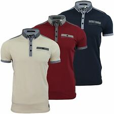 Mens Polo Shirt by Crosshatch 'Claythorn' Short Sleeved