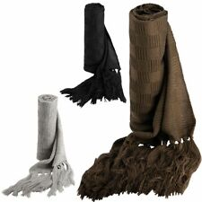 K-Up Jacquard Knitted Strickschal SCARF  Fransen WINTER  - 280 cm lang (0)