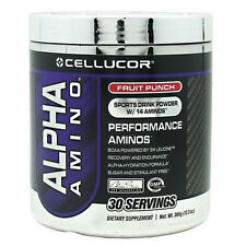 Cellucor Alpha Amino 30 Servings- All Flavors Pre-Intra-Post Workout