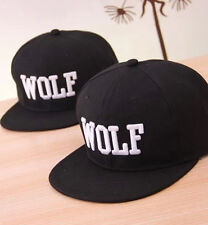 Best Fans Choice Cool WOLF EXO XOXO First Year Embroidered Snapback Cap Hat JBUS