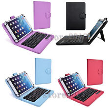 "Detachable Wireless Bluetooth Keyboard Protective Book Case For 9.7-10.5"" Tablet"