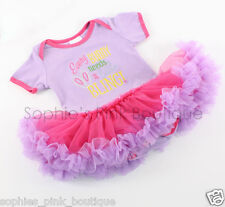 NWOT girls infant baby Easter Tutu Dress 0 3 6 9 mo bunny spring outfit clothes