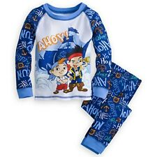 NWT Disney Store Jake and the Never Land Pirates Cubby PJ Pal Sleep Set NEW 6 7