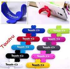One Touch-U Mobile Phone Silicone Sticker Stand-Perfect For iPhones Universal Mo