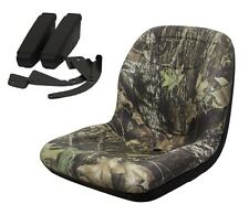 New Camo HIGH BACK SEAT w/ ARM RESTS for Ariens Zero Turn Lawn Mower Tractor