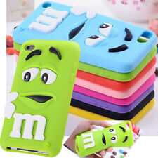 """Cute 3D Letter M Soft Case Cover For Apple Ipod Touch 4 5 iphone 4S 5S G 6 4.7"""""""