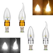 New 3W E14 5730 SMD LED CANDLE FLAME LED LIGHT BULB FLAMELESS warm white light