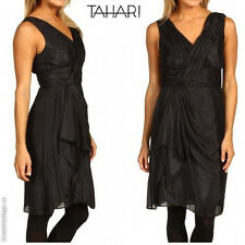 $148 NWT TAHARI by ASL Petite Karena Cocktail Designer Dress Formal Event -