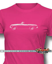 MG MGB Convertible T-Shirt for Women - Multiple Colors and Sizes - British Car