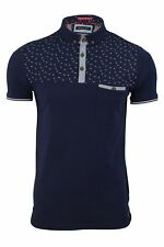 Mens Polo Shirt by Brave Soul 'Gerard' Short Sleeved
