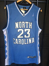 Michael Jordan #23 NORTH CAROLINA TARHEELS UNC BABY BLUE JERSEY NEW FREE SHIP