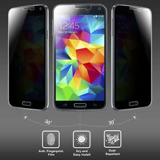 Anti-Spy Privacy Tempered Glass Cover For Samsung Galaxy S5 S4 S3 Note 3/4