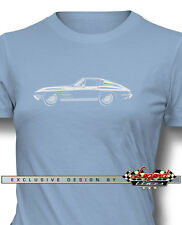 Chevrolet Corvette 1963 Split Window Women T-Shirt - Multiple Colors and Sizes