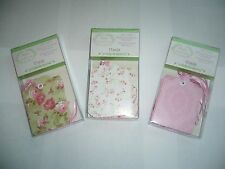 TREASURES BY SHABBY CHIC  DIE CUT GIFT TAGS W/RIBBON TIES - PK/12 YOU CHOOSE-NEW
