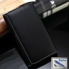 Wallet Money Card Leather Cover Case for ZTE Hop Smart / Fit Smart + Stylus