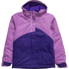 New Columbia girls waterproof breathable ski winter jacket parka Purple 2T $75