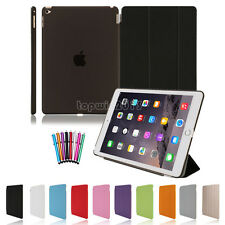 Magnetic Slim Smart Stand Cover & Back Case for iPad 4 3 2 iPad mini iPad Air 2