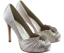 Rainbow Club Couture Allora Wedding Bridal Ivory Womens Shoes UK Size RRP125