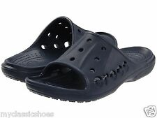 CROCS Men's Baya Slide Navy Mens Swimming Pool Beach Water Resistant Sandal NEW