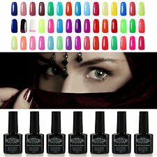 New 10 ml  Soak Off  Nail Gel Polish UV LED Lamp Glitter Nail Art Lacquer Tips