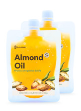 AUSTRALIAN REFINED SWEET ALMOND OIL 200ml -100% PURE**FREE SHIPPING**