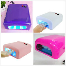 Hot New 36W Nail Art LED UV Gel Curing Lamp Dryer Timer Gelish Polish Kit Tool