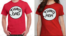 THING DAD AND THING MOM T-SHIRT