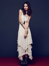 NWT Free People French Courtship Slip lace dress Ivory