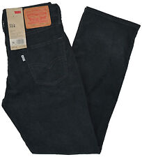 Levi's NEW Men's Gray Straight Fit 514 Straight Leg Slim Fit Corduroy Pants $58