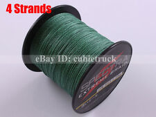 Green 100M 300M 500M 1000M 6LB-300LB Super PE Dyneema Spectra Braid Fishing Line