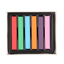 Hair Chalk Temporary Hair Dye Colour Kit Pastels Colours Salon Kit 6/12/24/36