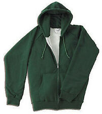 Mens Thermal Heavyweight Zip Hooded Sweatshirt  S-7XLT