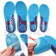 Men Women Silicone Gel Orthotic Arch Support Massaging Sport Shoe Insole Run Pad