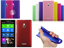 Slim Rubberized Matte Snap-On Hard Case Cover For Various Nokia Microsoft Phone