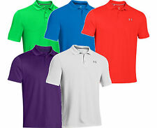 UNDER Armour 2015 nuova linea uomo Performance Polo Golf Top HeatGear