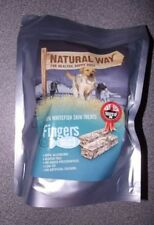 The Natural Way Fish Dog Treats Low Fat Omega 3 Hypo-Allergenic Gluten 1kg
