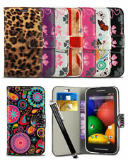 Printed Wallet Case For Nokia Lumia 630 Mobile Phone Flip Pattern Cover & Stylus