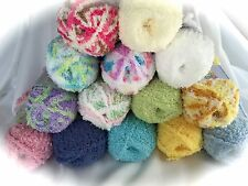 BERNAT PIPSQUEAK YARN 3.5 oz Large Variety of Colors Soft Fluffy Baby Yarn