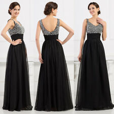 CHEAP!! Long Graduation Formal Party Evening Ball Gown Bridesmaid Prom Dresses