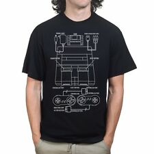 Retro Super Nintendo Gaming Console T-shirt R218