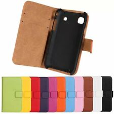 Leather Wallet Phone Case Cover Protector Skin For Samsung Galaxy S i9000