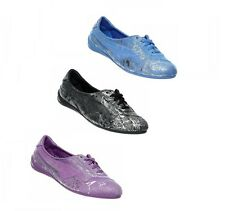 New Puma Winning Diva Bling Ballerina Trainers Blue Black Purple All Sizes