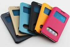 """JIAYU G4 G4S G4C  4.7"""" PU Leather Wallet Bag Flip Protective Case Back Cover"""