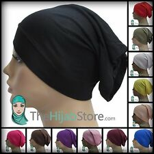 TheHijabStore NEW Soft Jersey Tube Under Scarves Hijab Cap Chemo Hat-20 Colors