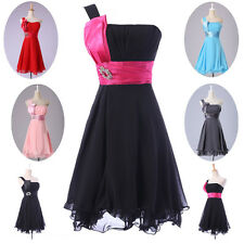 SUMMER CHEAP! Sexy Bridesmaid Short Prom Dress Homecoming Party Ball Gown Dress