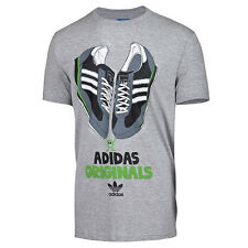 adidas Originals Mens Graphic SL72 Trainer T-Shirt Short Sleeve Tee Top New
