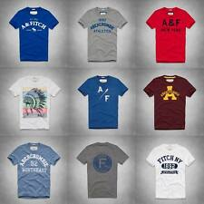 NTW Abercrombie & Fitch A&F Mens logo classic graphic tee T-shirts S M L