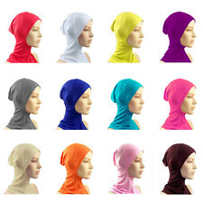 Useful Hijab Under Scarf Hat Cap Bone Bonnet Neck Cover Protect Muslim Head Wear