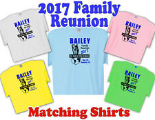 "2017 FAMILY REUNION T-Shirts  ""Custom design"" Fast, Free Shipping"