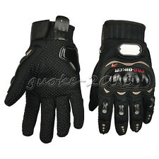 Summer M L XXL Pro-Biker Motorcycle Motorbike Motocross Fiber Bike Racing Gloves